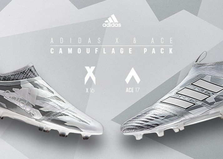 Buy the new adidas 'Camouflage Pack' football boots on unisportstore.com