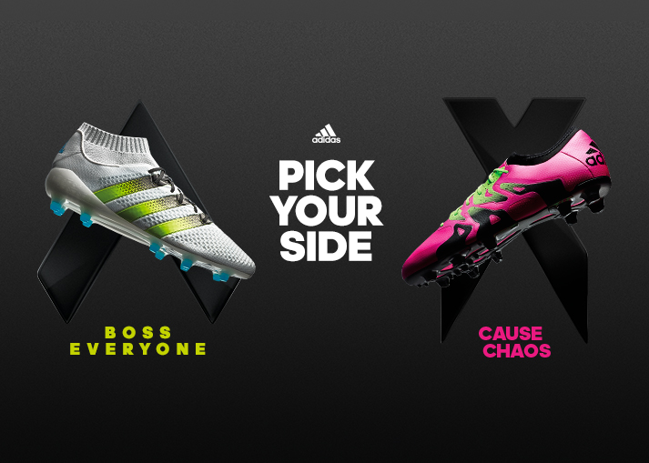 Create chaos in pink with the new adidas X15