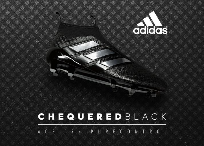 Koop de adidas Chequered Black voetbalschoenen op unisportstore.nl