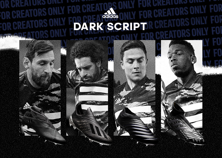 Buy the adidas Dark Script Pack at Unisport right now