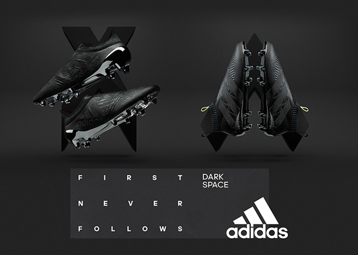 Buy the adidas Dark Space football boots at Unisportstore.com