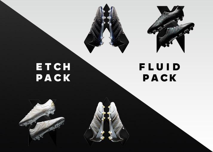 adidas Etch Pack & Fluid Pack