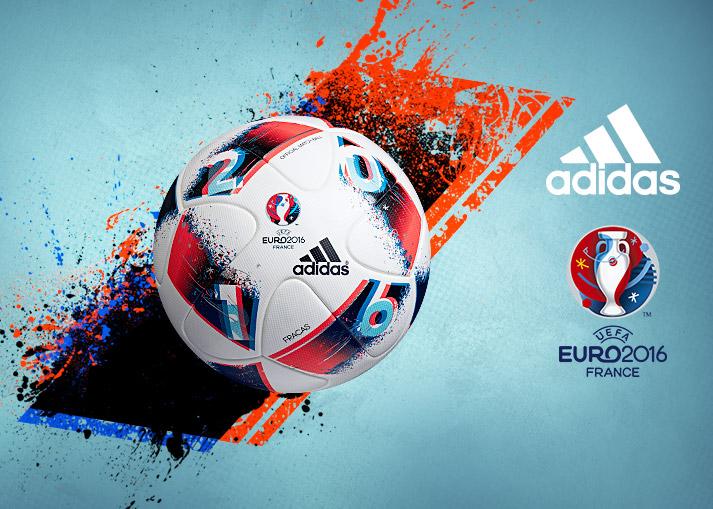 Køb den officielle EURO16 Fracas Kampbold hos Unisport