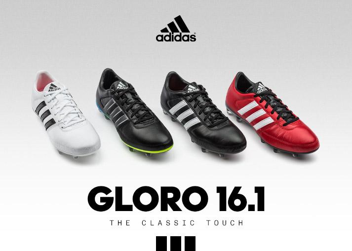 adidas Gloro 16.1 | Traditioneel ontwerp voor het moderne voetbal.
