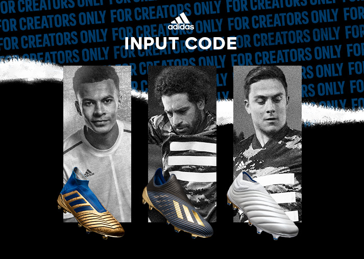 Buy the adidas Input Code Pack at Unisport right now