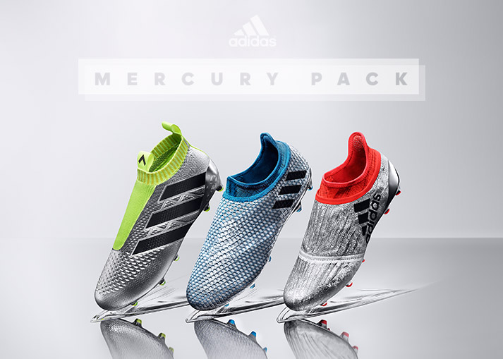 adidas Mercury Pack - PURECHAOS, PUREAGILITY and PURECONTROL