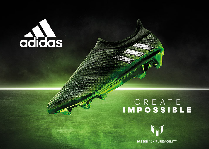 Buy adidas Messi 16+ PureAgility Space Dust - worldwide shipping on unisportstore.com