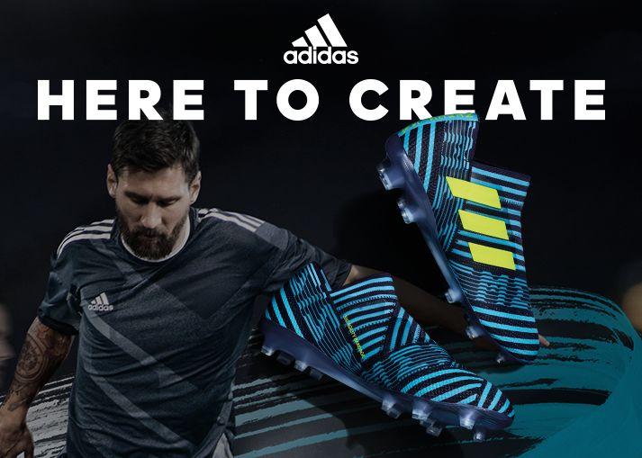 Køb Adidas Nemeziz 17+ 360Agility 'Ocean Storm' på Unisport.dk