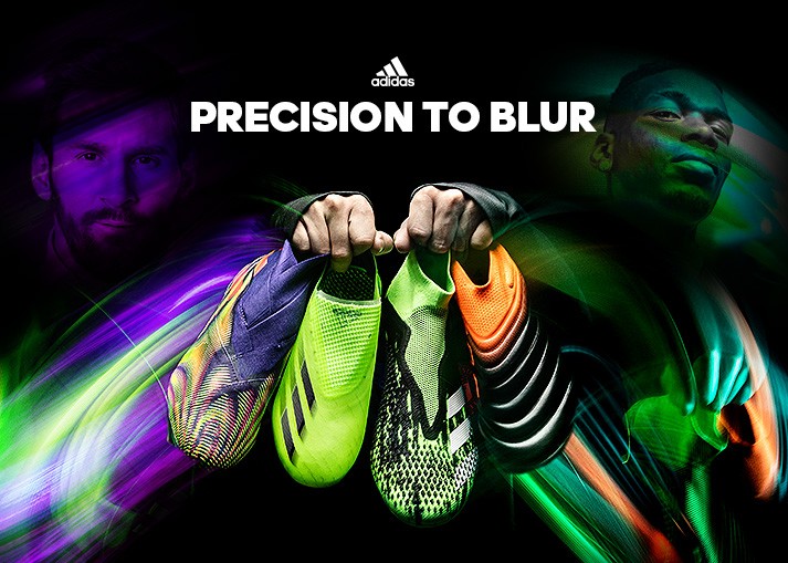 adidas Precision to Blur | Check out the new boots at Unisport