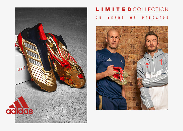 Buy the adidas Predator 19+ Icon Pack at Unisport