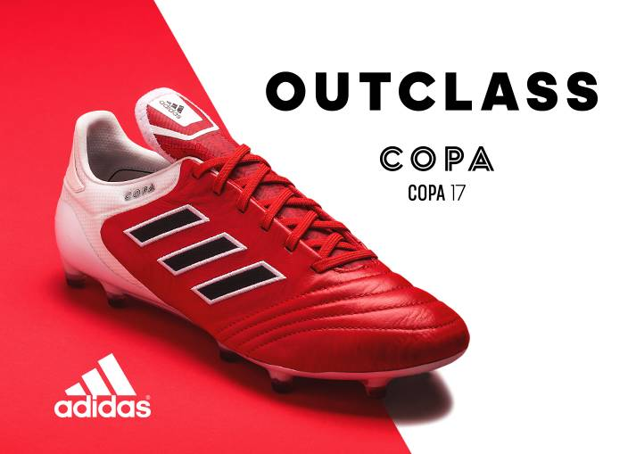 You can buy the adidas Copa 17 boots on unisportstore.com now