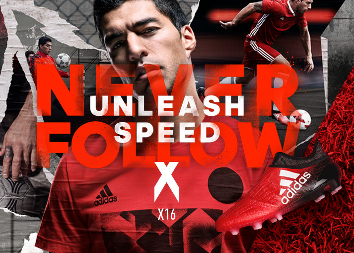 Køb adidas X 16+ PureChaos hos Unisport - Gratis fragt