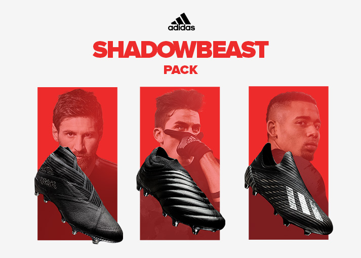 Buy the adidas Shadowbeast Pack at Unisport right now