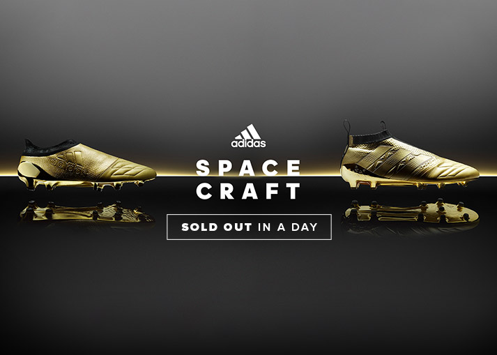 The adidas Space Craft football boots - available on unisportstore.com