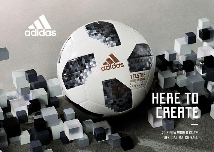 Køb din adidas VM 2018 Telstar 18 Kampbold