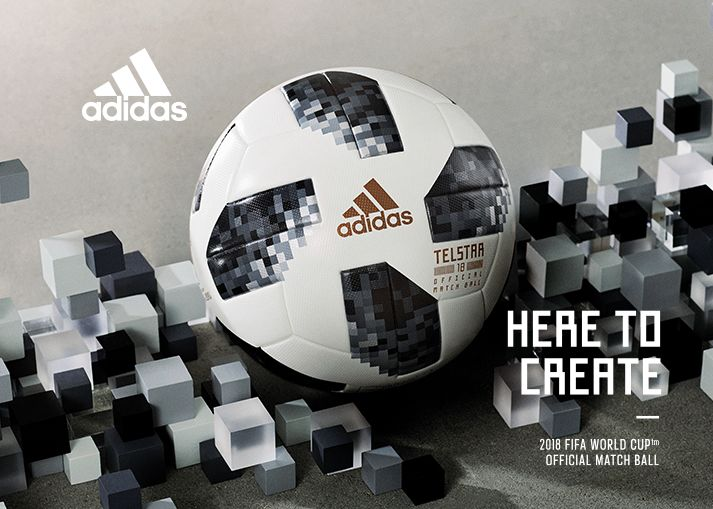 Bestel nu de adidas WK 2018 Telstar wedstrijdbal
