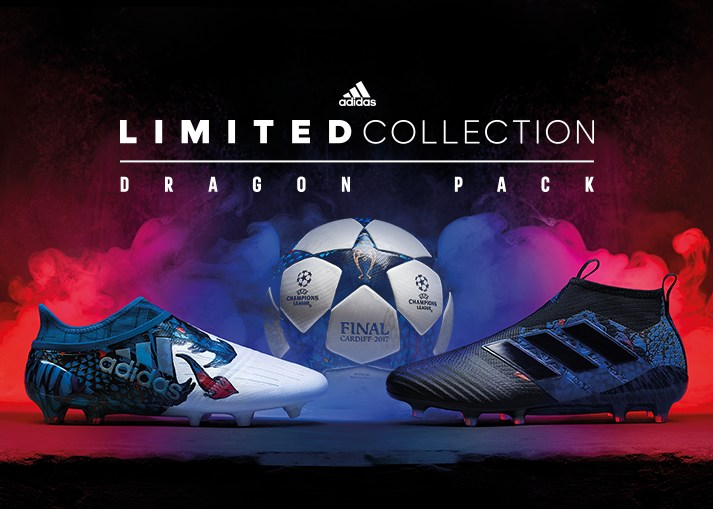 Buy the new adidas Dragon Pack football boots on unisportstore.com