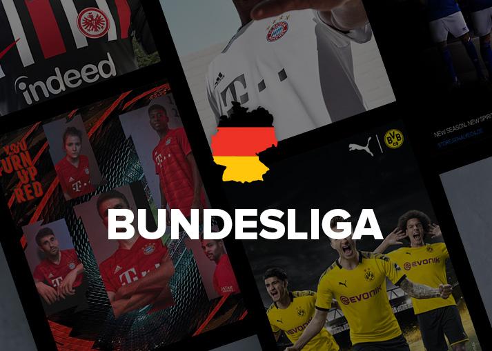Bestel Bundesliga-shirts bij Unisport.