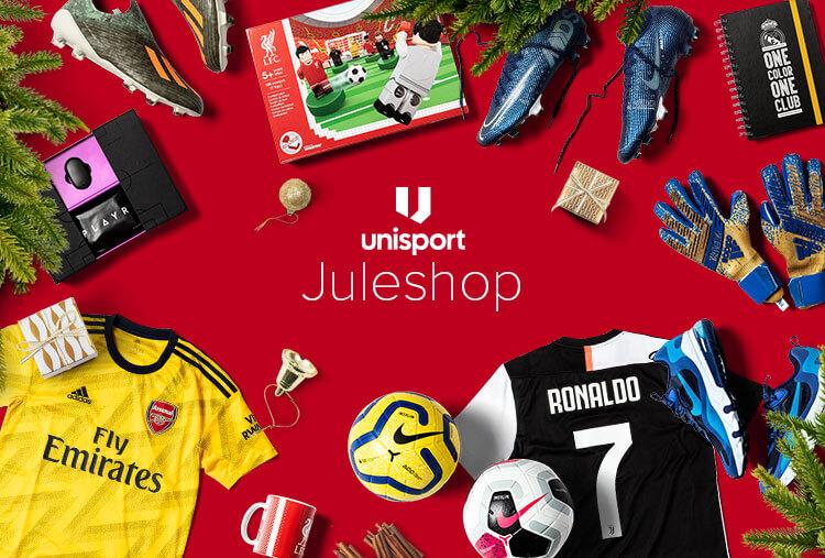 c890fea024a Unisport prismatch - altid laveste pris! Største udvalg af fodboldgaver.  Gaver ...