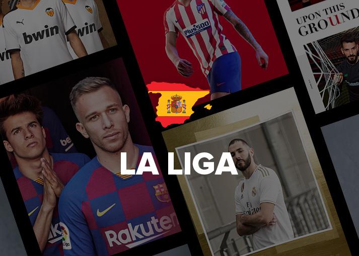 Bestel jouw La Liga-shirt bij Unisport.