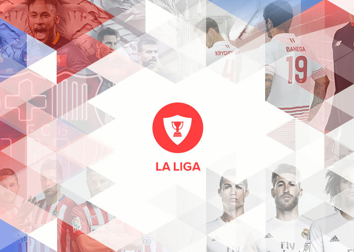 La Liga Shirts 15/16