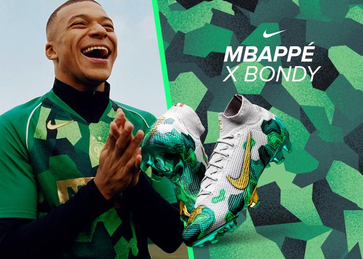 Bestel je Nike Mbappé x Bondy-voetbalschoenen
