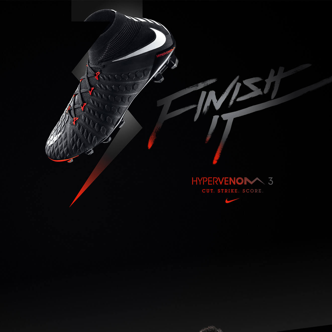innovative design d573c 6475c Buy your Nike Hypervenom 3 'Black Pack' on unisportstore.com