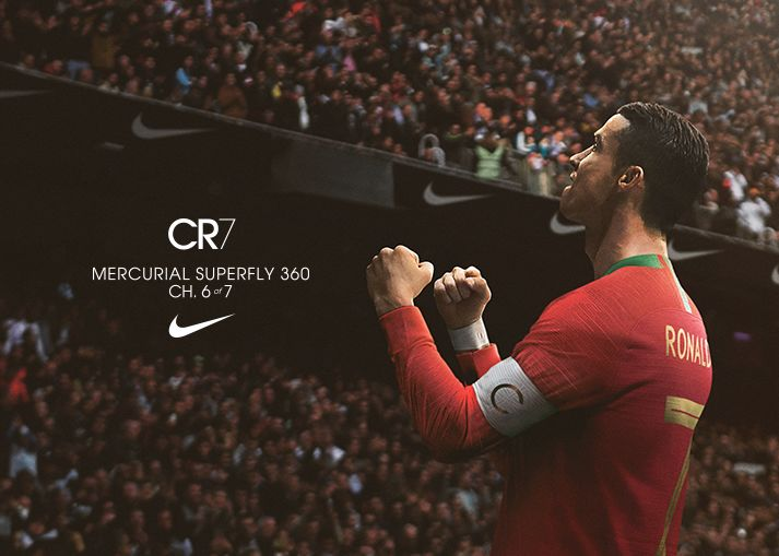 Bestel jouw Nike Mercurial Superfly CR7 Chapter 6: Born Leader bij Unisport!