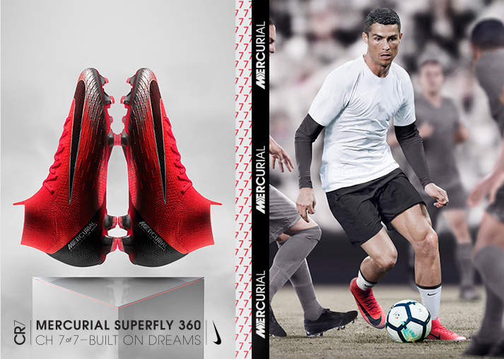 Hole dir den Nike Nike Mercurial Superfly CR7 Chapter 7: Built on Dreams bei Unisport