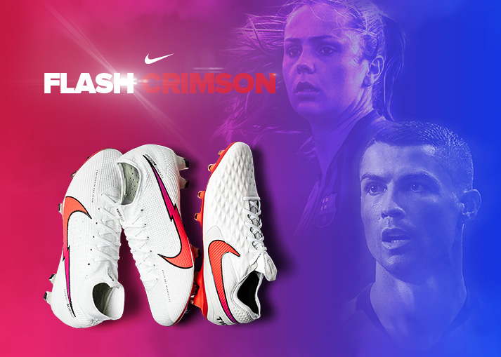 Nike Flash Crimson | Get the new boots at Unisport