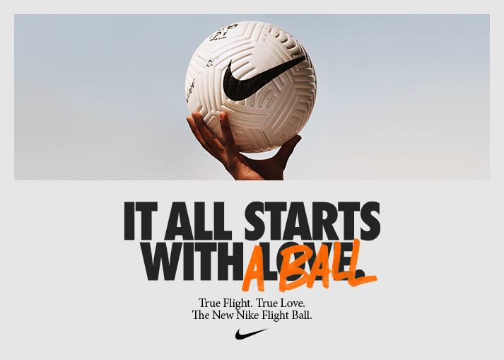 Bestel de nieuwe Nike Flight voetbal bij Unisport