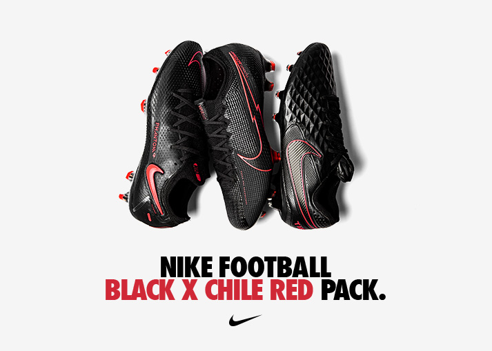 Nike Black x Chile Red