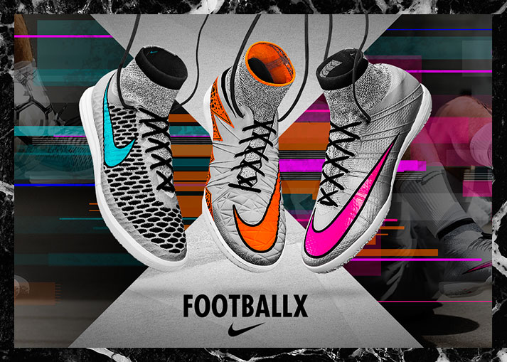 Nike FootballX Silver Storm Pack