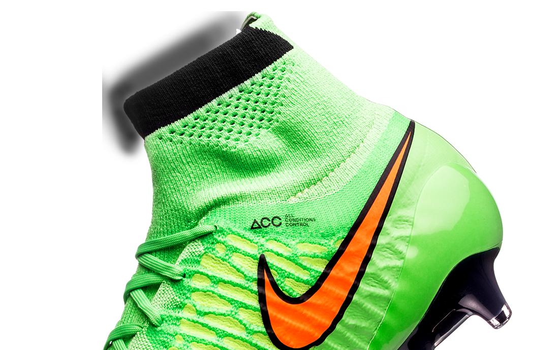 Nike Magista Obra II ACC FG Sock Soccer Cleats OrangeBlack