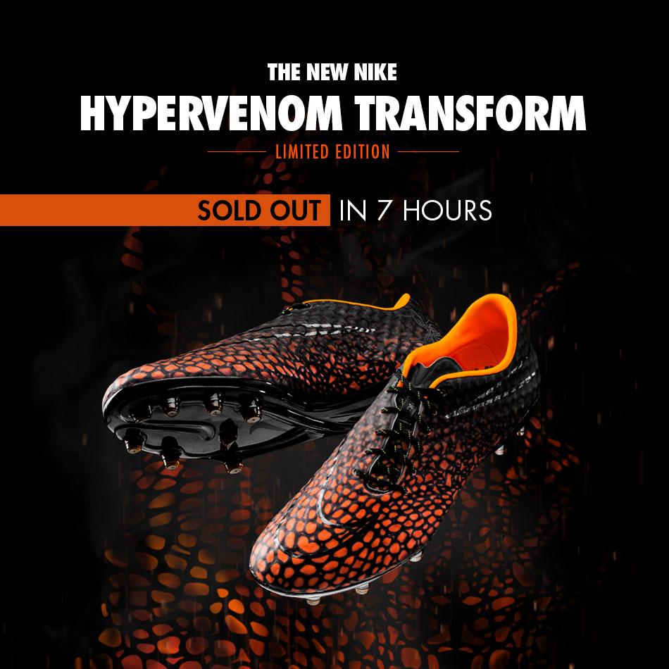online retailer 97e1d 9646b Nike Hypervenom Transform