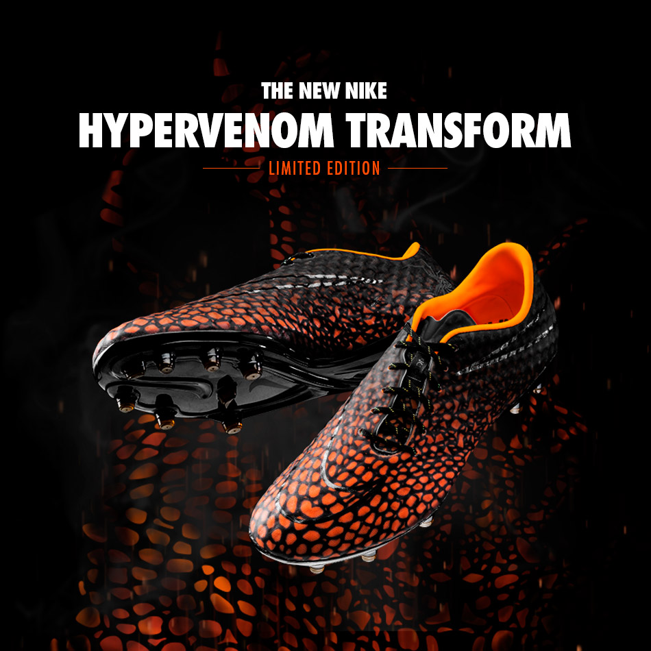 nike hypervenom transform cleats