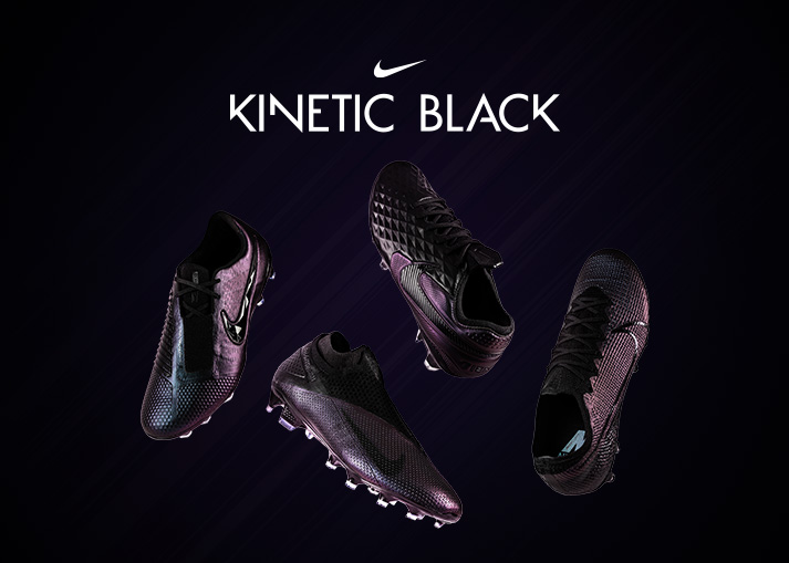 Buy the Nike Kinetic Black boots at Unisport