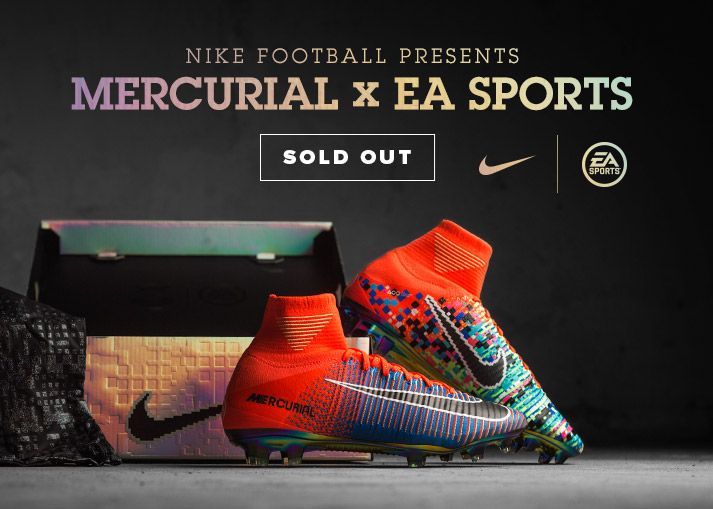 Nike Mercurial X EA SPORTS - available at unisportstore.com