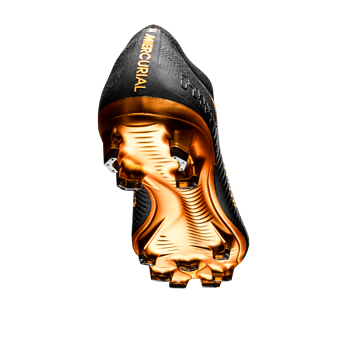 Nike Mercurial Vapor Flyknit Ultra FG BlackGoldMetallic Gold