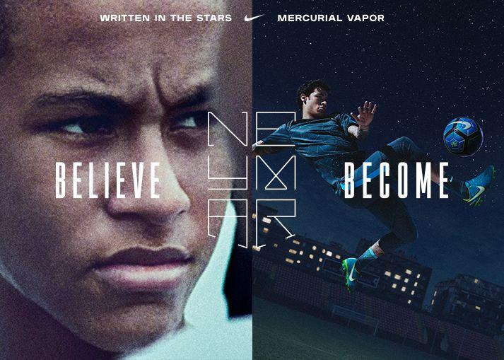 Køb Nike Neymar 'Written in the Stars' Mercurial fodboldstøvler på unisport.dk