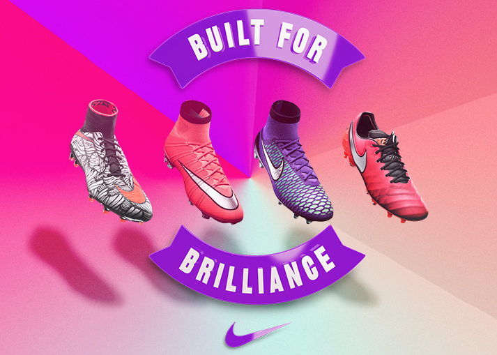 Nike turn up the colours on the Metal Flash Pack