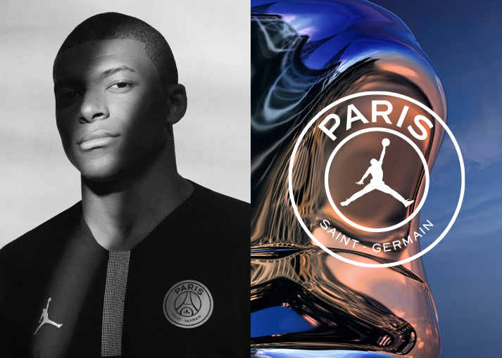 Jordan x Paris Saint-Germain collectie