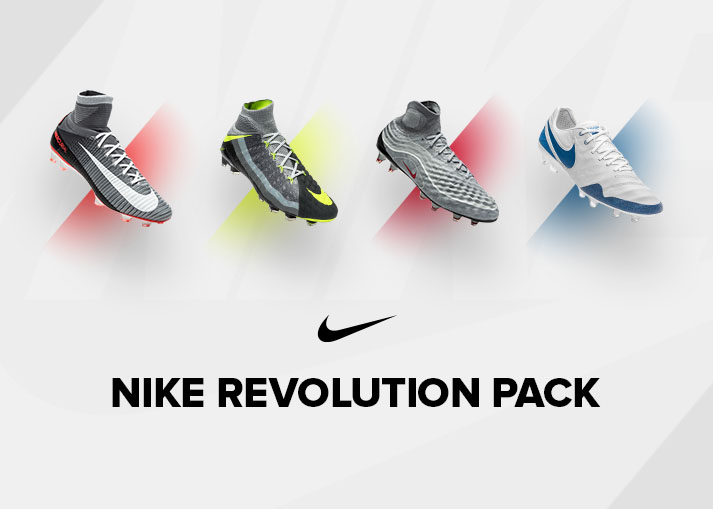 Buy the new Nike 'Revolution Pack' football boots on unisportstore.com