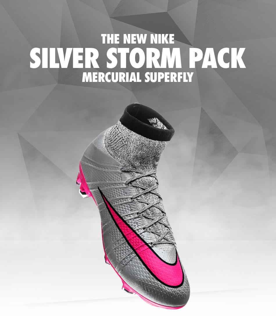 best sneakers dc318 fe7cd Nike Silver Storm Pack - Mercurial