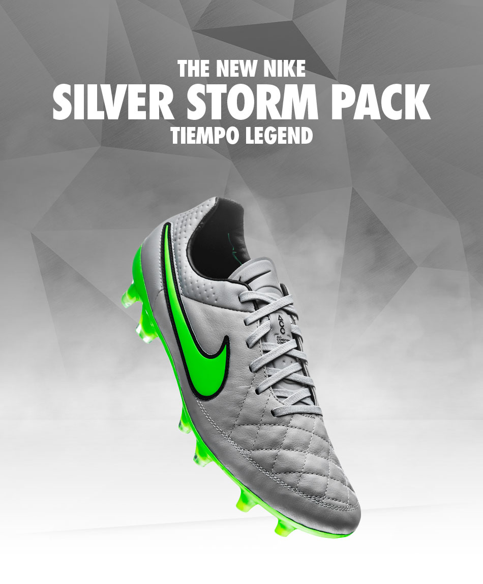 Nike Silver Storm Pack - tiempo