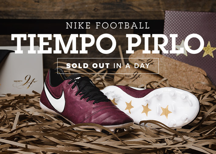 The Nike Tiempo Pirlo Limited Edition - Available at Unisportstore.com