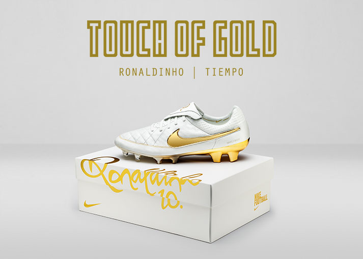 Nike Tiempo Ronaldinho - Touch of Gold