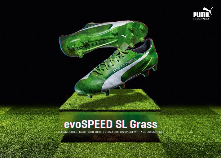Køb PUMA evoSPEED SL Grass hos Unisport