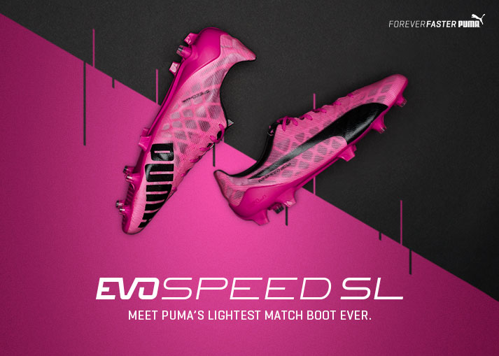 PUMA evoSPEED SL Project Pink
