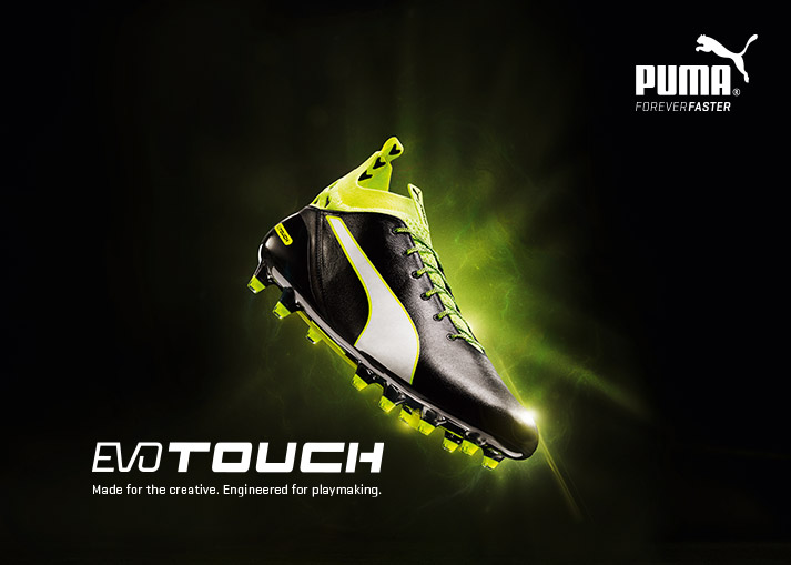 Buy the all-new PUMA evoTOUCH football boots on Unisportstore.com